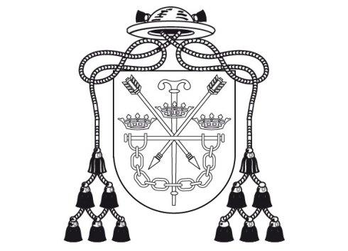 Abadía de Santo Domingo de Silos. Burgos. España. Eclesiastical heraldry