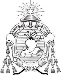 Escudo de la Orden de Agustinos Recoletos (Versión oficial)