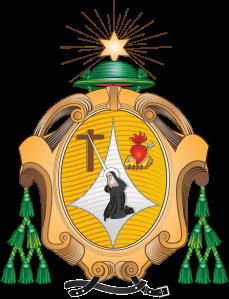 Escudo de la Provincia Santa Rita de Cassia de la Orden de Agustinos Recoletos