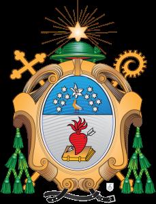 Escudo de Armas de la Provincia San Agustín de la Orden de Agustinos Recoletos.